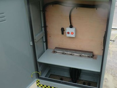 Inside the Passively Safe Cabinet