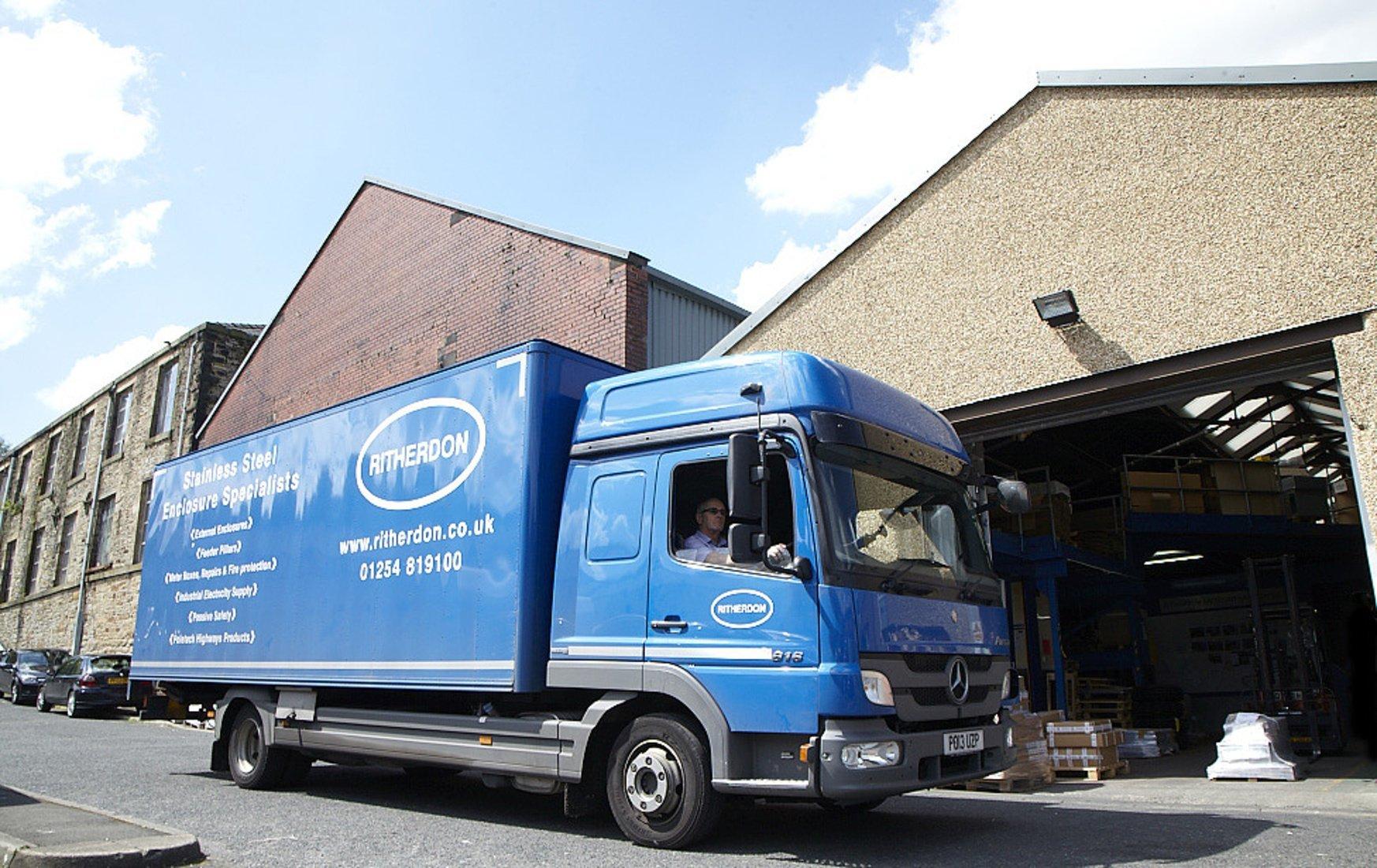 Ritherdon Delivery Van