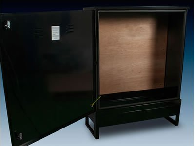 RB Cabinet in Dark Green