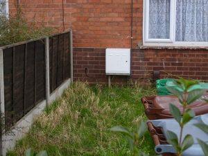 Repaired meter box