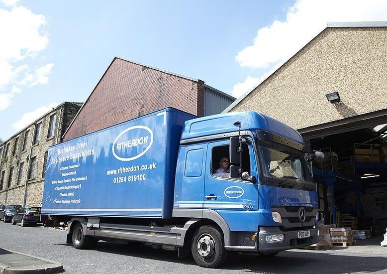 Ritherdon & Co Ltd. Delivery Van