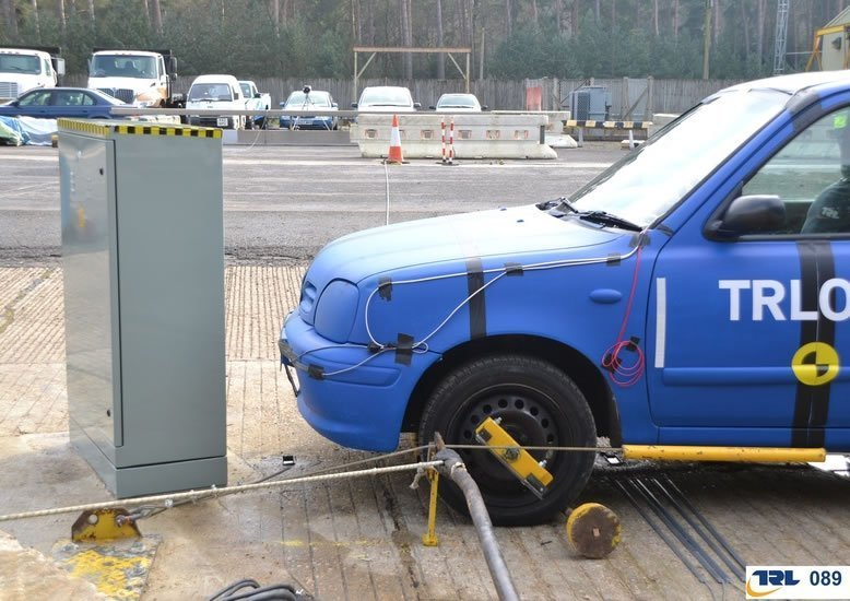 Passively safe Roadside Cabinet - Ritherdon