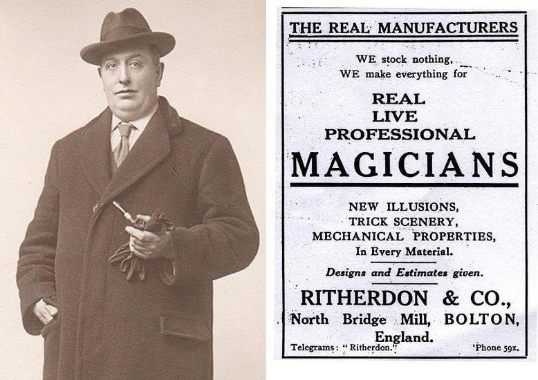 Percy Ritherdon - Advert