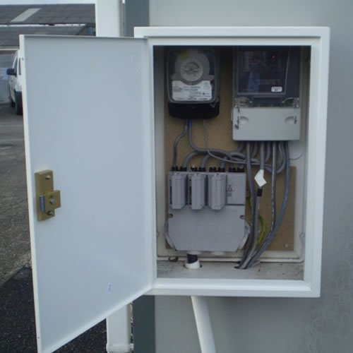 Electrical Distribution Panel With Meter : Meter box repair units grp boxes easily