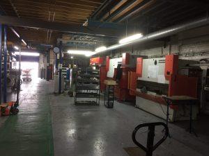 Replacing press brakes
