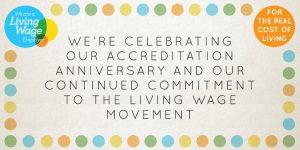 Living Wage Anniversary