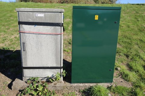 Customer Installation RB Cabinet RB800 1400 H 300D