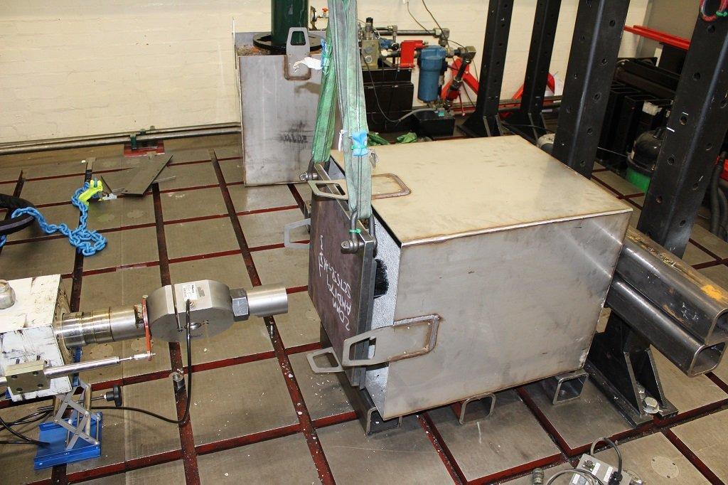 Atlas Testing Rig Setup at HORIBA MIRA