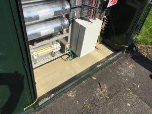 avoiding damp in external enclosures