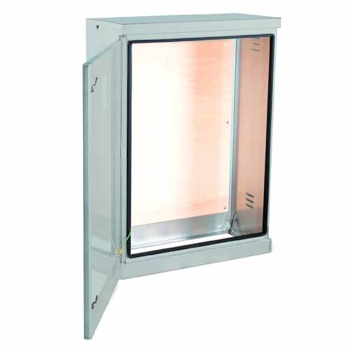 RB800 Cabinet Light Grey RB Cabinet Open