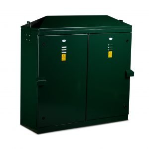 PS60 Permanent Supply Cabinet - Double Door Kiosk for Power Supply Connections